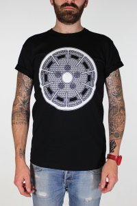 black gas burner tee