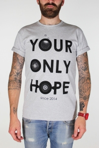 grey your only hope tee