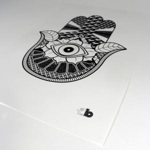 hand A3 print 2