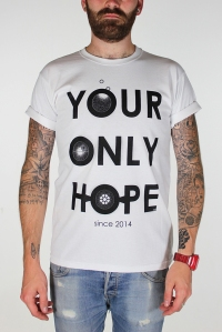white your only hope tee