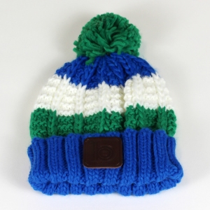green bobble hat 2