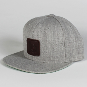 grey snap back 1
