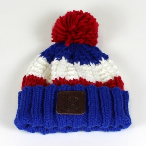 red bobble hat 2