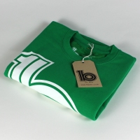 green logo sweat 1