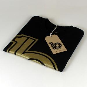 gold logo tee 2