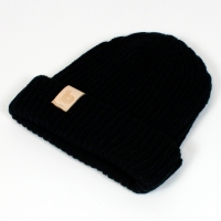 black fisherman's beanie 2