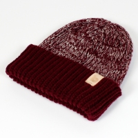 burgundy heather beanie 2