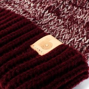 burgundy heather beanie 3
