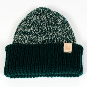green heather beanie 1