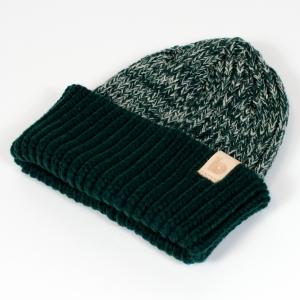 green heather beanie 2