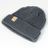 grey fisherman's beanie 2