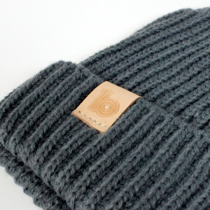 grey fisherman's beanie 3